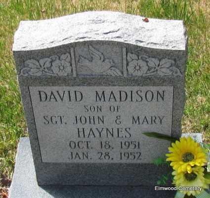 HAYNES, DAVID MADISON - Mississippi County, Arkansas   DAVID MADISON HAYNES - Arkansas Gravestone Photos
