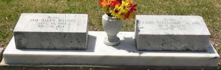 HAYNES, JIM ALLEN - Mississippi County, Arkansas | JIM ALLEN HAYNES - Arkansas Gravestone Photos