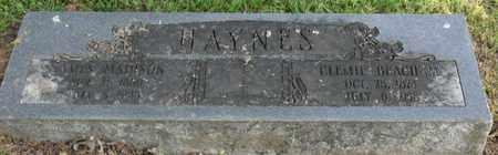 HAYNES, JAMES MATTHEW - Mississippi County, Arkansas | JAMES MATTHEW HAYNES - Arkansas Gravestone Photos