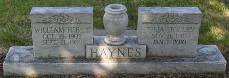 HAYNES, JULIA - Mississippi County, Arkansas | JULIA HAYNES - Arkansas Gravestone Photos