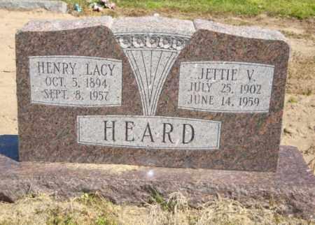 HEARD, JETTIE V - Mississippi County, Arkansas   JETTIE V HEARD - Arkansas Gravestone Photos