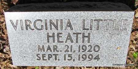 LITTLE HEATH, VIRGINIA - Mississippi County, Arkansas   VIRGINIA LITTLE HEATH - Arkansas Gravestone Photos