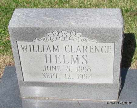 HELMS, WILLIAM CLARENCE (CLOSE UP) - Mississippi County, Arkansas | WILLIAM CLARENCE (CLOSE UP) HELMS - Arkansas Gravestone Photos