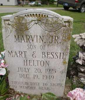 HELTON, MARVIN, JR - Mississippi County, Arkansas | MARVIN, JR HELTON - Arkansas Gravestone Photos