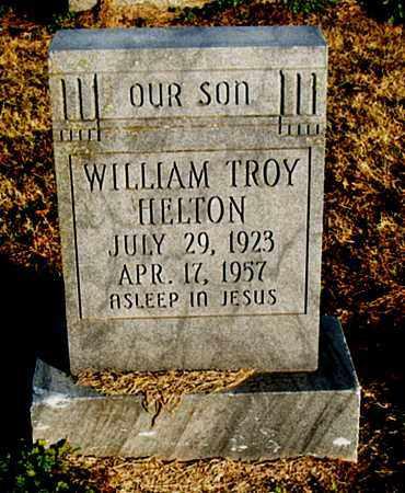 HELTON, WILLIAM TROY - Mississippi County, Arkansas | WILLIAM TROY HELTON - Arkansas Gravestone Photos