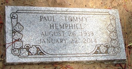"""HEMPHILL, PAUL """"TOMMY"""" - Mississippi County, Arkansas 