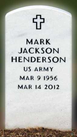 HENDERSON (VETERAN), MARK JACKSON - Mississippi County, Arkansas   MARK JACKSON HENDERSON (VETERAN) - Arkansas Gravestone Photos
