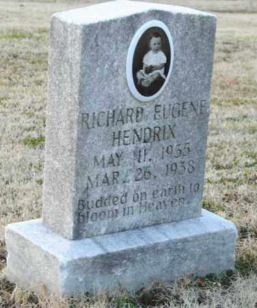 HENDRIX, RICHARD EUGENE - Mississippi County, Arkansas   RICHARD EUGENE HENDRIX - Arkansas Gravestone Photos