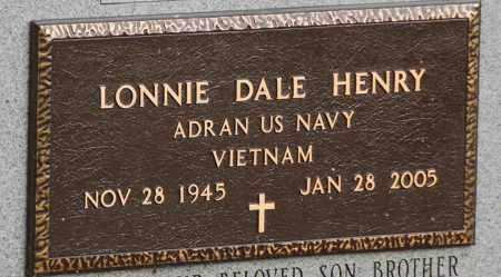 HENRY  (VETERAN VIET), LONNIE DALE - Mississippi County, Arkansas | LONNIE DALE HENRY  (VETERAN VIET) - Arkansas Gravestone Photos