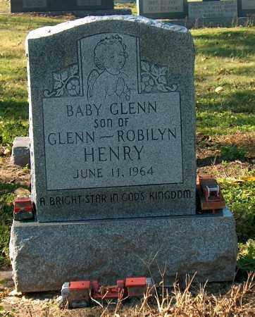 HENRY, BABY GLENN - Mississippi County, Arkansas   BABY GLENN HENRY - Arkansas Gravestone Photos