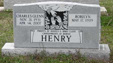 HENRY, CHARLES GLENN - Mississippi County, Arkansas   CHARLES GLENN HENRY - Arkansas Gravestone Photos