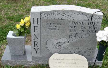HENRY, LONNIE DALE - Mississippi County, Arkansas | LONNIE DALE HENRY - Arkansas Gravestone Photos
