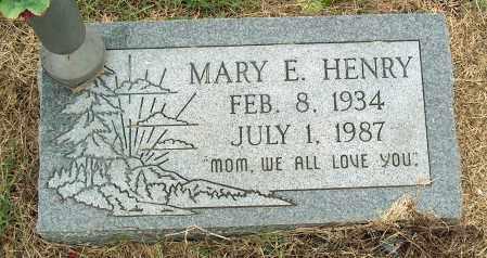 HENRY, MARY E - Mississippi County, Arkansas | MARY E HENRY - Arkansas Gravestone Photos