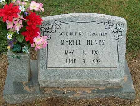 HENRY, MYRTLE - Mississippi County, Arkansas | MYRTLE HENRY - Arkansas Gravestone Photos
