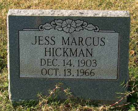 HICKMAN, JESS MARCUS - Mississippi County, Arkansas   JESS MARCUS HICKMAN - Arkansas Gravestone Photos