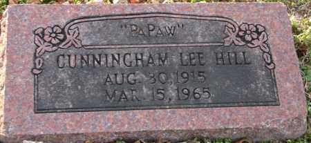 HILL, CUNNINGHAM LEE - Mississippi County, Arkansas | CUNNINGHAM LEE HILL - Arkansas Gravestone Photos