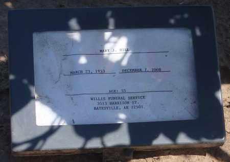 HILL, MARY J - Mississippi County, Arkansas | MARY J HILL - Arkansas Gravestone Photos