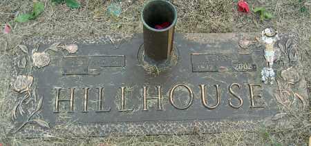 HILLHOUSE, EDNA M - Mississippi County, Arkansas | EDNA M HILLHOUSE - Arkansas Gravestone Photos