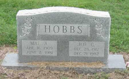 HOBBS, JOE C - Mississippi County, Arkansas   JOE C HOBBS - Arkansas Gravestone Photos