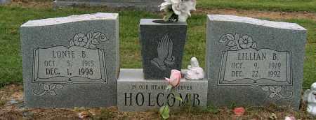HOLCOMB, LONIE B - Mississippi County, Arkansas | LONIE B HOLCOMB - Arkansas Gravestone Photos