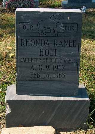 HOLT, RHONDA RANEE - Mississippi County, Arkansas | RHONDA RANEE HOLT - Arkansas Gravestone Photos