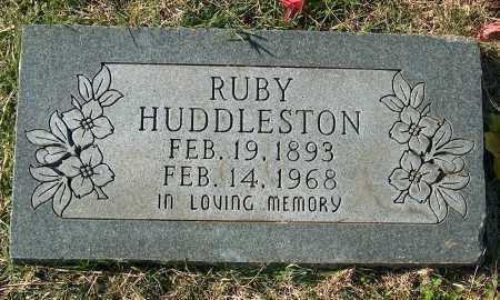 HUDDLESTON, RUBY - Mississippi County, Arkansas | RUBY HUDDLESTON - Arkansas Gravestone Photos
