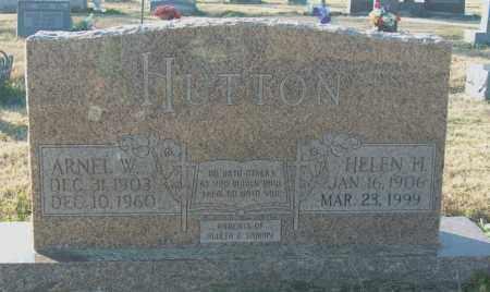 HUTTON, HELEN H - Mississippi County, Arkansas | HELEN H HUTTON - Arkansas Gravestone Photos