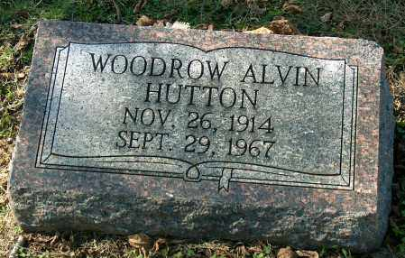 HUTTON, WOODROW ALVIN - Mississippi County, Arkansas | WOODROW ALVIN HUTTON - Arkansas Gravestone Photos