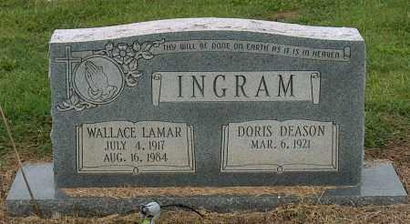 INGRAM, WALLACE LAMAR - Mississippi County, Arkansas | WALLACE LAMAR INGRAM - Arkansas Gravestone Photos