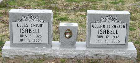 ISABELL, ULESS CALVIN - Mississippi County, Arkansas | ULESS CALVIN ISABELL - Arkansas Gravestone Photos