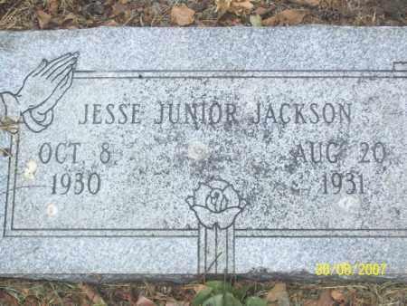 JACKSON, JESSE JUNIOR - Mississippi County, Arkansas | JESSE JUNIOR JACKSON - Arkansas Gravestone Photos