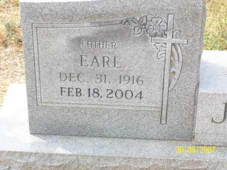 JACKSON, JAMES 'EARL' - Mississippi County, Arkansas | JAMES 'EARL' JACKSON - Arkansas Gravestone Photos