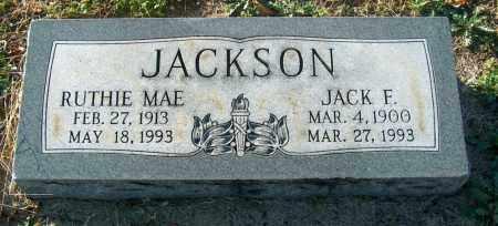 JACKSON, JACK F - Mississippi County, Arkansas | JACK F JACKSON - Arkansas Gravestone Photos