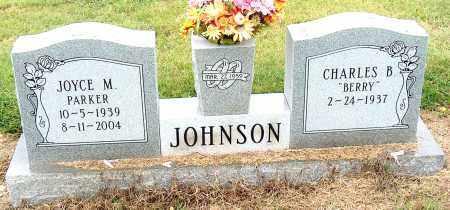 PARKER JOHNSON, JOYCE M - Mississippi County, Arkansas | JOYCE M PARKER JOHNSON - Arkansas Gravestone Photos