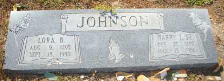 JOHNSON, LORA B - Mississippi County, Arkansas   LORA B JOHNSON - Arkansas Gravestone Photos