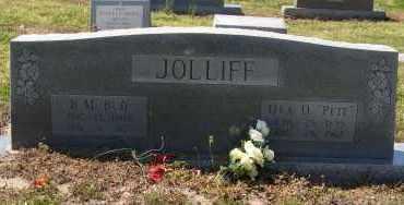 JOLLIFF, ORA D - Mississippi County, Arkansas | ORA D JOLLIFF - Arkansas Gravestone Photos