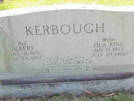 KERBOUGH, OLA - Mississippi County, Arkansas   OLA KERBOUGH - Arkansas Gravestone Photos