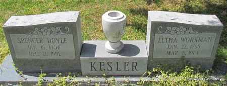 KESLER, SPENCER DOYLE - Mississippi County, Arkansas | SPENCER DOYLE KESLER - Arkansas Gravestone Photos