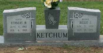 KETCHUM, BILLIE J - Mississippi County, Arkansas | BILLIE J KETCHUM - Arkansas Gravestone Photos