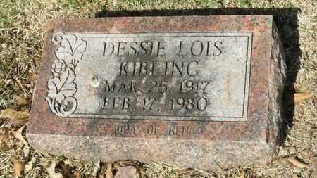 KIBLING, DESSIE LOIS - Mississippi County, Arkansas | DESSIE LOIS KIBLING - Arkansas Gravestone Photos