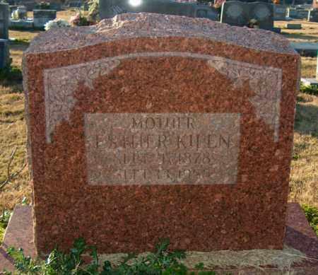 KILEN, ESTHER - Mississippi County, Arkansas   ESTHER KILEN - Arkansas Gravestone Photos