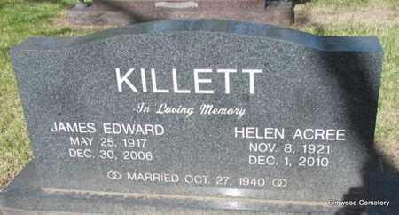 ACREE KILLETT, HELEN - Mississippi County, Arkansas | HELEN ACREE KILLETT - Arkansas Gravestone Photos