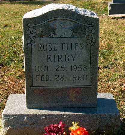 KIRBY, ROSE ELLEN - Mississippi County, Arkansas   ROSE ELLEN KIRBY - Arkansas Gravestone Photos