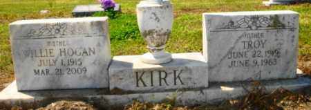 KIRK, WILLIE HOGAN - Mississippi County, Arkansas | WILLIE HOGAN KIRK - Arkansas Gravestone Photos