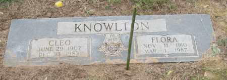 KNOWLTON, CLEO - Mississippi County, Arkansas | CLEO KNOWLTON - Arkansas Gravestone Photos