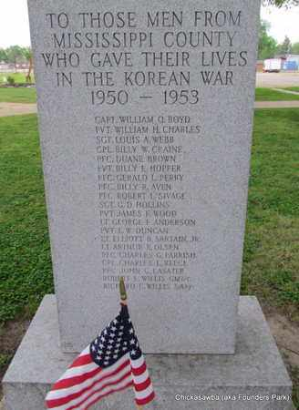 *KOREAN WAR VETERANS, MEMORIAL - Mississippi County, Arkansas | MEMORIAL *KOREAN WAR VETERANS - Arkansas Gravestone Photos