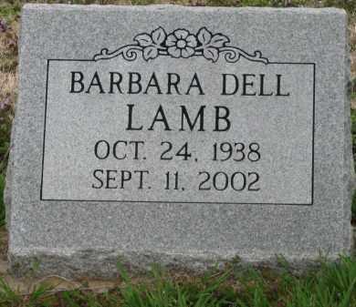 LAMB, BARBARA DELL - Mississippi County, Arkansas | BARBARA DELL LAMB - Arkansas Gravestone Photos