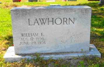 LAWHORN, MARTHA M - Mississippi County, Arkansas | MARTHA M LAWHORN - Arkansas Gravestone Photos