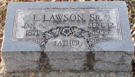 LAWSON, SR., L. - Mississippi County, Arkansas | L. LAWSON, SR. - Arkansas Gravestone Photos