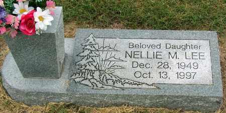 LEE, NELLIE M - Mississippi County, Arkansas | NELLIE M LEE - Arkansas Gravestone Photos